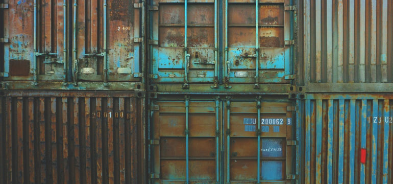 Le container : la caisse de transport de marchandise qui transforme la construction