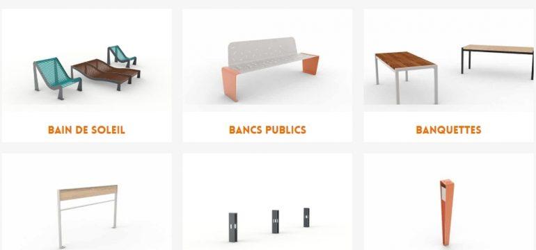 Utiliser du mobilier urbain design pour aménager la ville